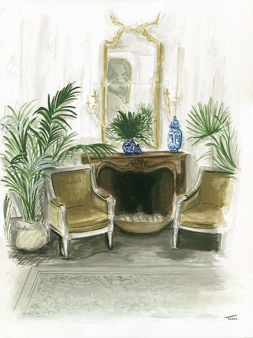 Johanna Ortiz Living Room Painting