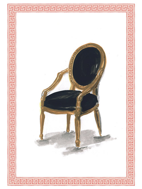 Chair Postcards