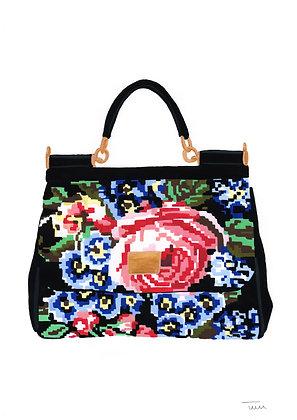Pair of Dolce & Gabbana handbag illustrations