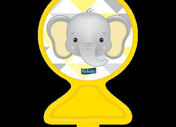 Vela Elefantinho Amarelo