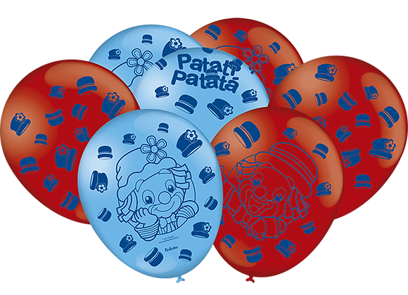 """Balão Especial 9"""" - Patati Patata"""