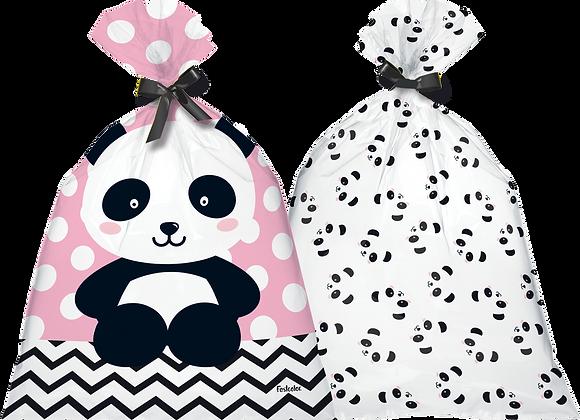 Sacola Plástica Panda