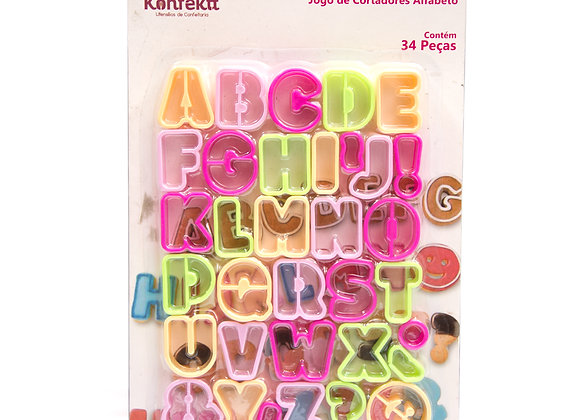 Jogo Marcador de Alfabeto