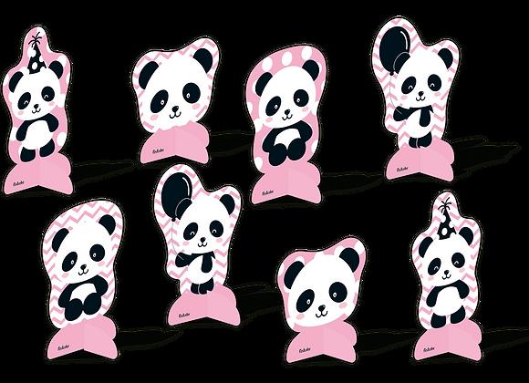 Kit Decoração de Mesa Panda