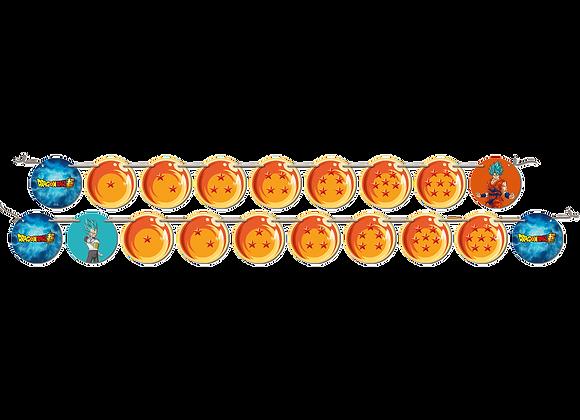 Faixa Decorativa DragonBallz Super
