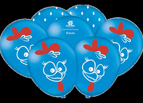 """Balão Especial 9"""" - Galinha Pintadinha"""