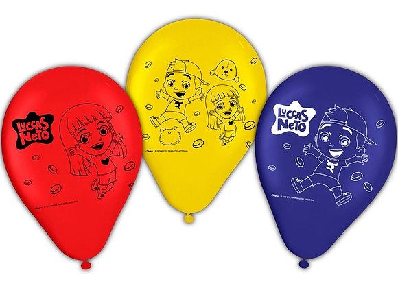 Balão n9 Luccas Neto