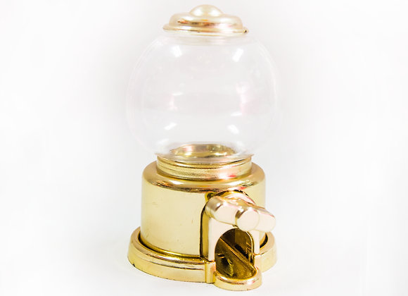 Mini Baleiro Dourado