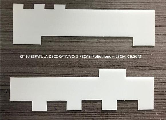 Kit Espátulas Texturizadoras N19 Solrac