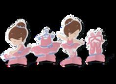 Kit Decoração de Mesa Bailarina