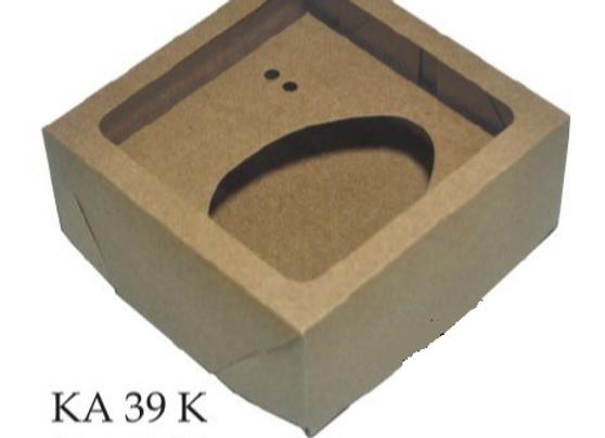 Caixa para Ovo de colher KA39K