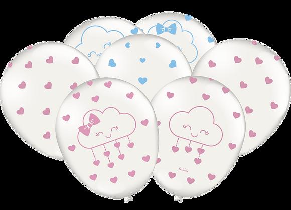 Balões Chuva de Amor