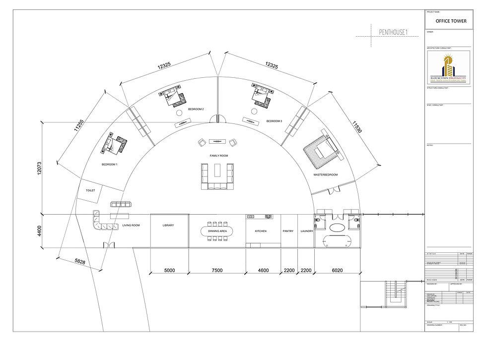 Penthouse Designs @ Blockchain DigitalCity