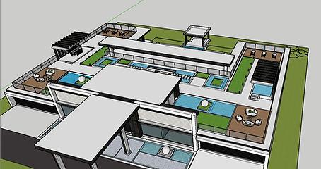 Villa 2 Roof Terrace Design @ Blockchain DigitalCity