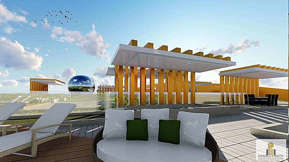 Penthouse Roof Terrace Designs @ Blockchain DigitalCity