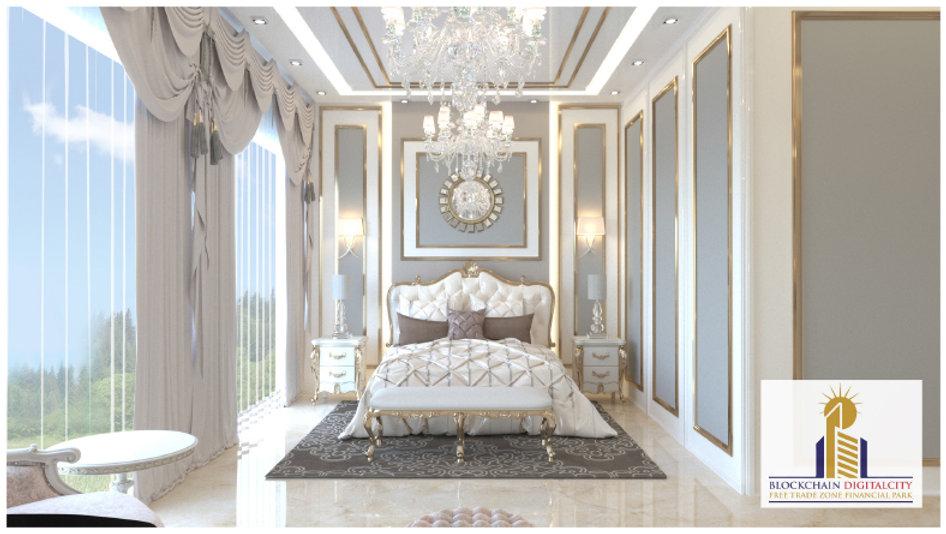 Interior Design Villa 1 @ Blockchain DigitalCity