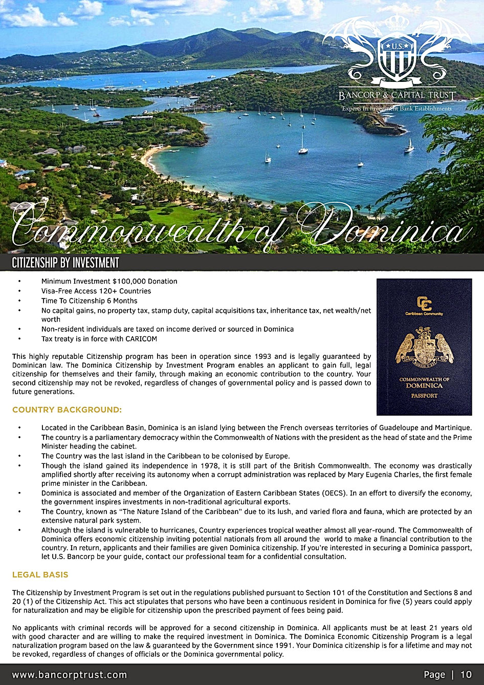 2020-BROCHURE - DIPLOMATIC PASSPORT + PA