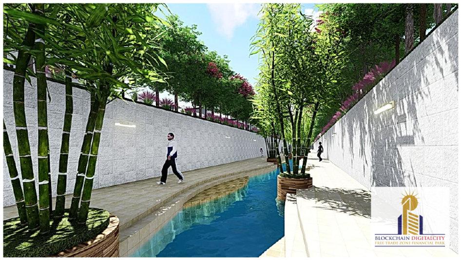 River Garden Designs @ Blockchain DigitalCity