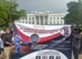 WHITE HOUSE BANNER CAMPAIGN TO EXPOSE PSYCHOLOGICAL & MENTAL CHILD ABUSE