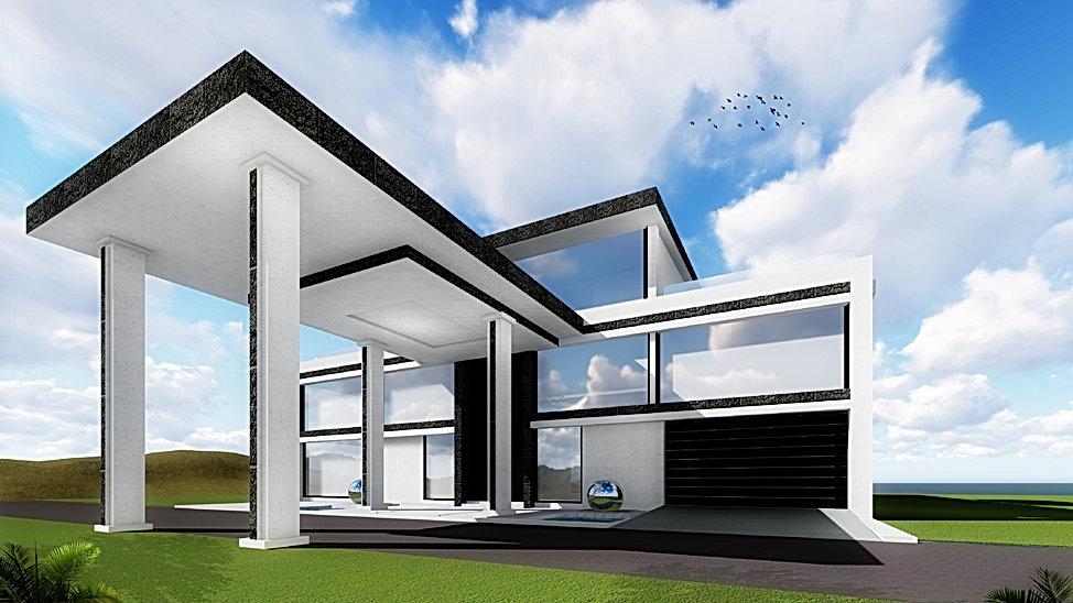 Villa 2 Design @ Blockchain DigitalCity