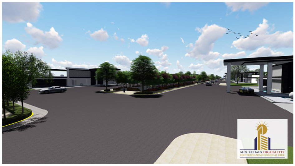 MASTER PLAN & COMMUNITY DESIGN @BLOCKCHAIN DIGITALCITY