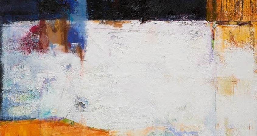 5.생명- 기다림-1,162X130, Mixed media on Canvas.