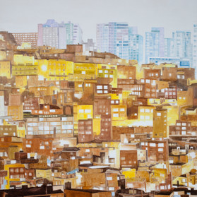 1.회색도시-도시이면, 2015, 100F.