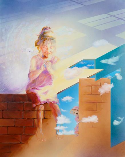 비밀, 2020,Acrylic on canvas, 130X162cm.