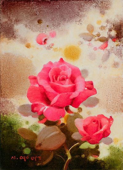 5月의 향기C, Oil on canvas, 33.4x24.2cm. 2016.jpg
