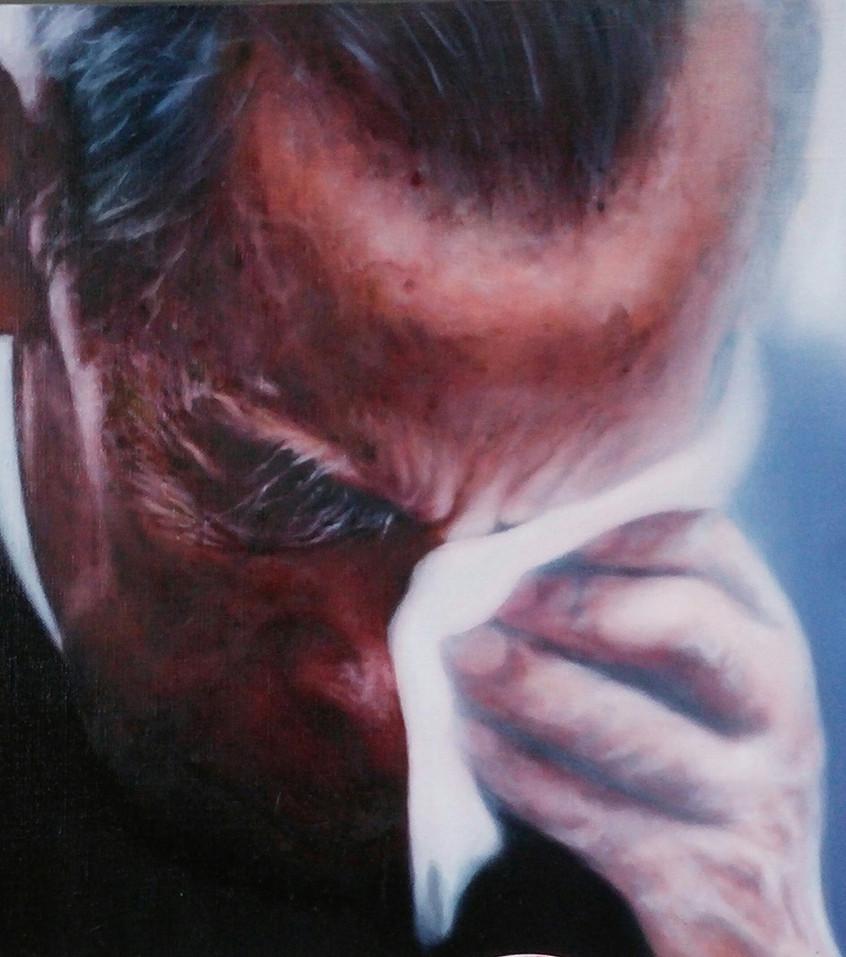 2. 치유 EXISTENCE NO2, Oil on canvas, 73x61cm, 201 6
