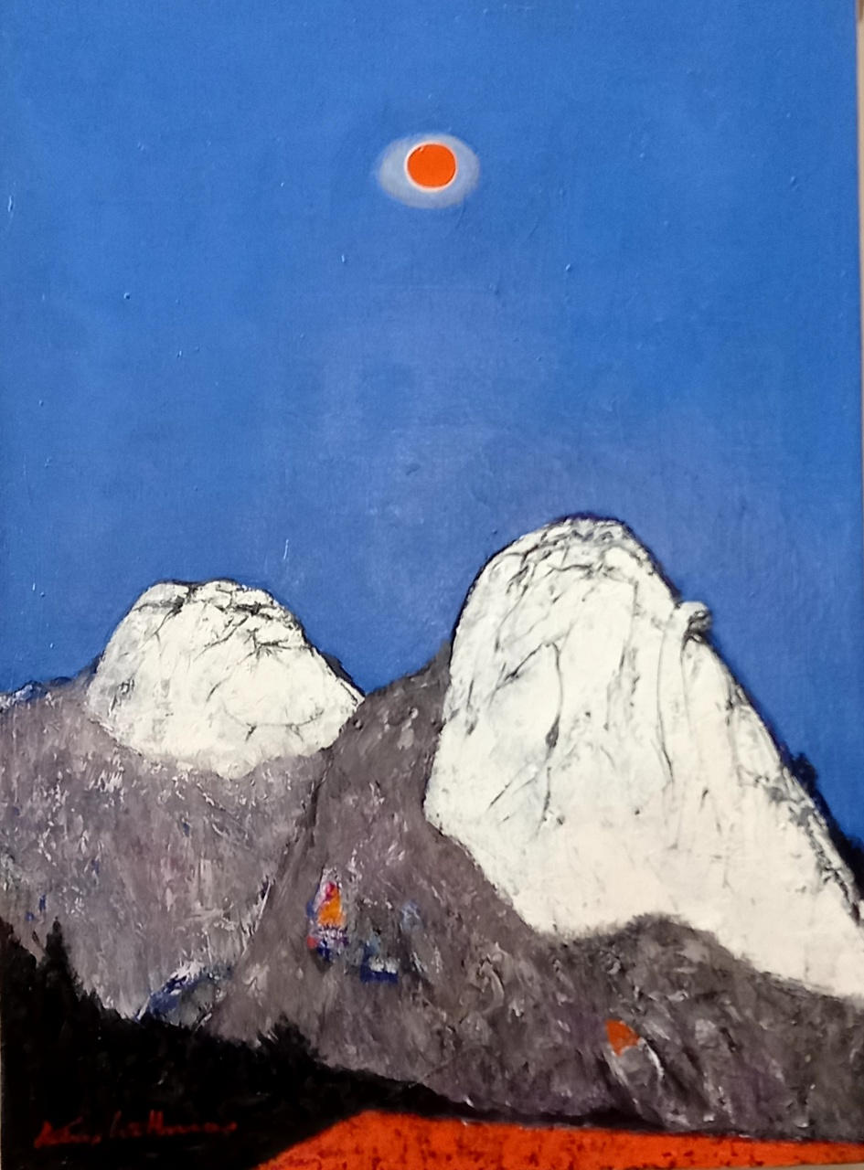 10. 인수봉 백운대, Oil on canvas, 60.6 x 72.7cm. 2021.(20F).jpg