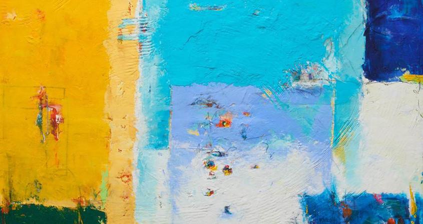 3.생명-우연한 만남,162X130, Mixed media on Canvas.