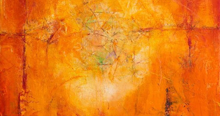 1.생명의 기운, 162x112 ,Mixed media on Canvas.2