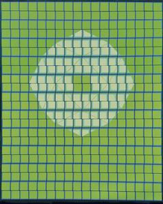 이정옥,<자연의 고리2-2016>, Oil on canvas, 162.0 x 130.3cm, 2016.