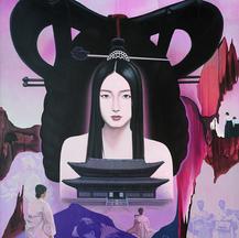 2-4 2000.신명성황후(The New Myungsung empress).100호.캔바스에유화.TIF