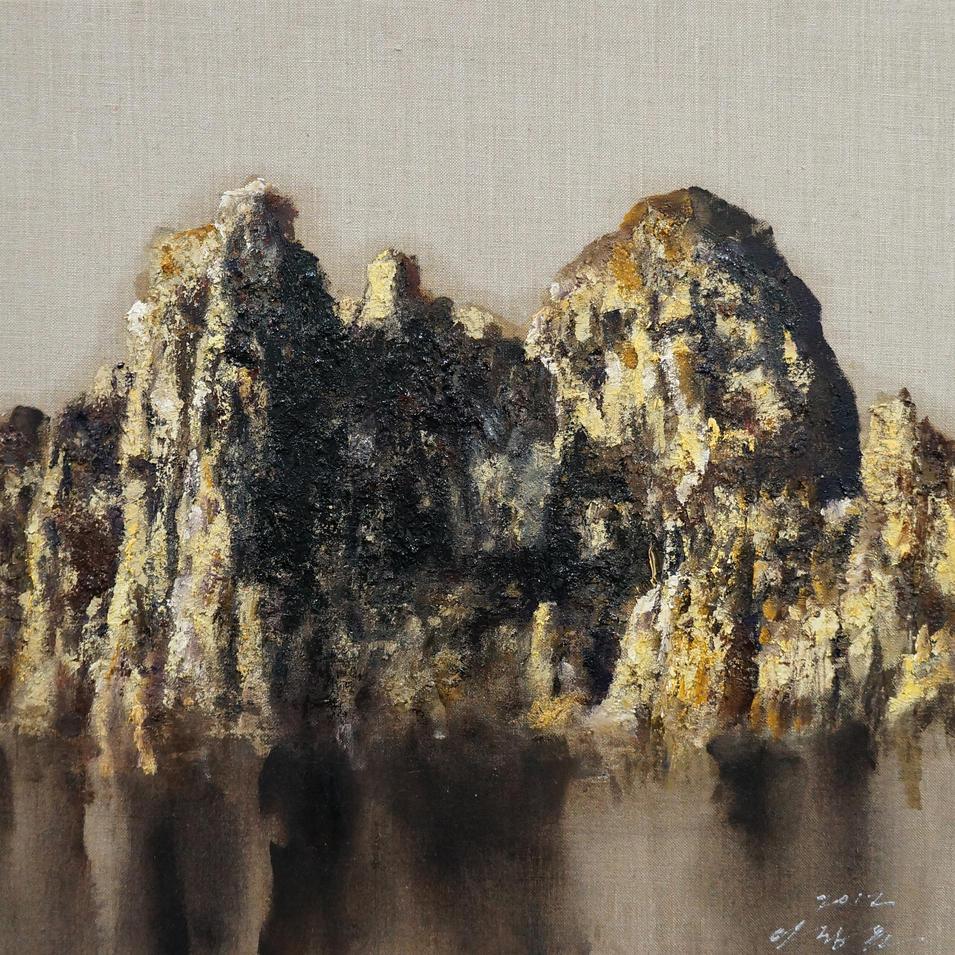 자연의 숲, Oil on canvas, 72.7x60.6cm. 2012..jpg