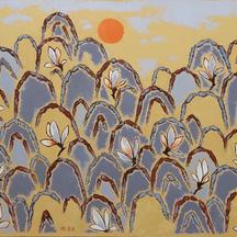 3 자연의 소리-산유화, Oil on canvas, 90.9x116.7cm. 2012_