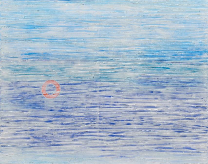 1.무제, 80 x 100cm, mixed media on canvas,2020.