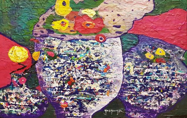 Fragrance of nature (부제_조응), 72.2x60.6cm, Acrylic on canvas.jpg