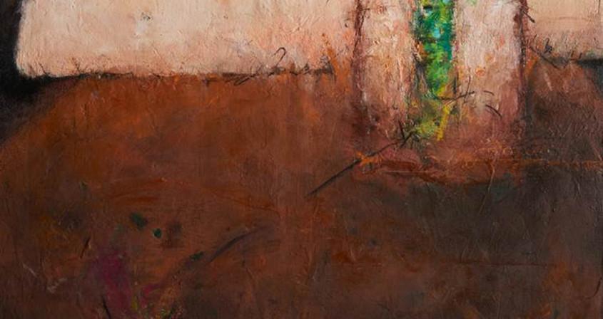 9.생명-자라나다,162X130, Mixed media on Canvas.
