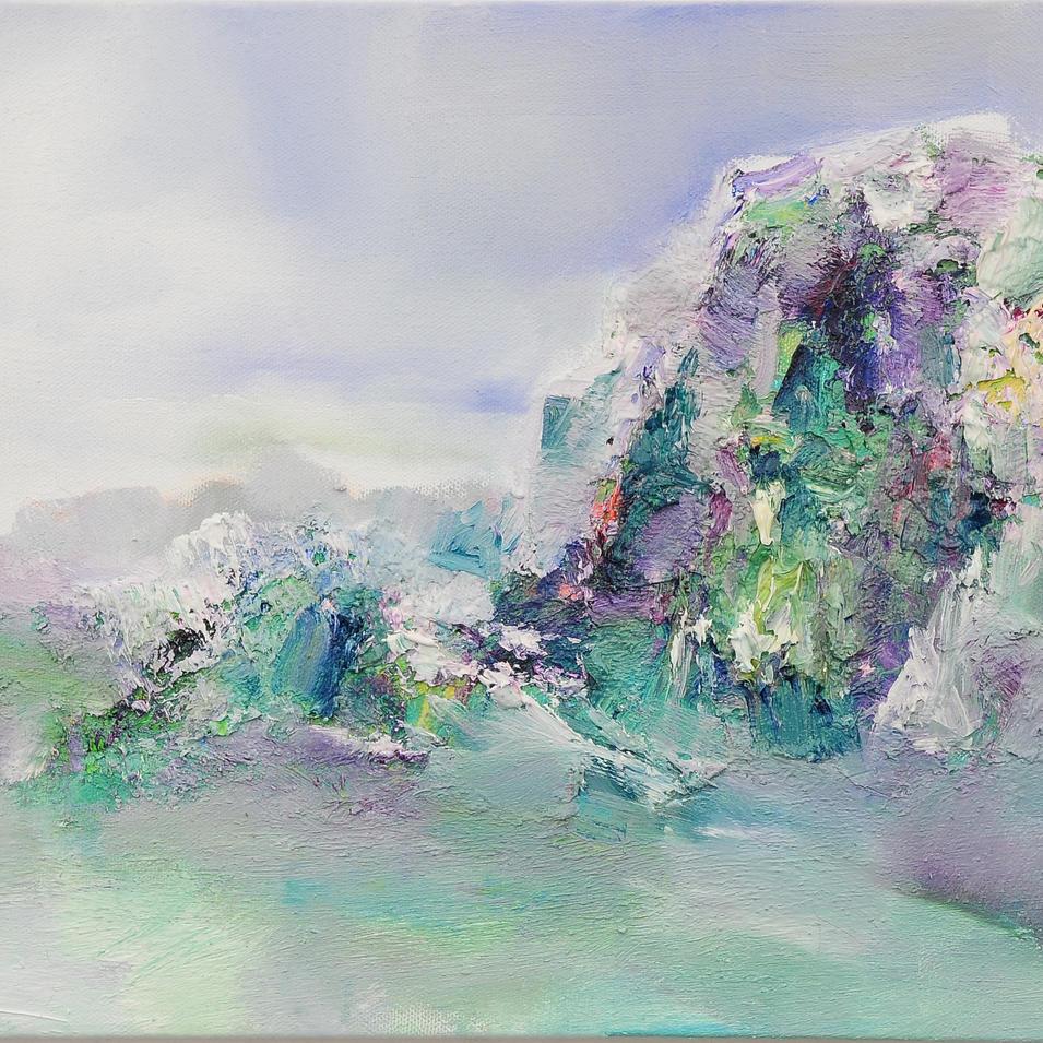 자연의 숨, Oil on canvas, 30x60cm. 2010..jpg