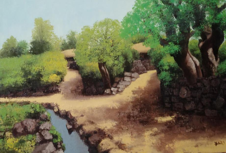 제주 유수암리, Oil on canvas, 116.8x80.3cm.