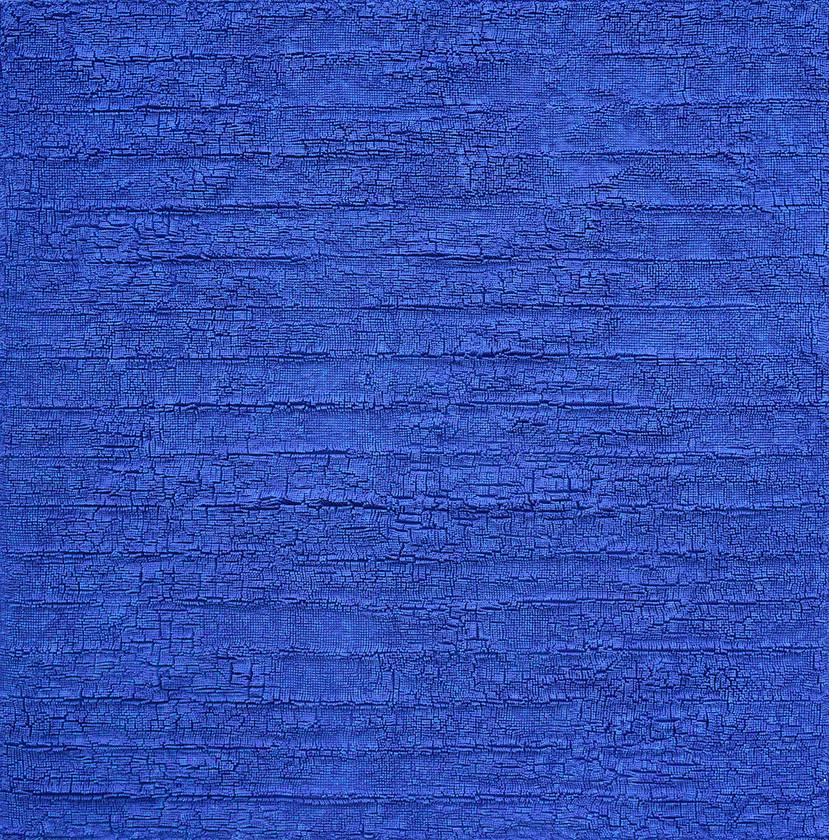 공존-밀알의 숲130S1/145.5x145.5cm / mixed materiais / 2019