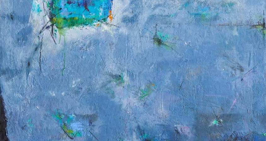 7.생명-설레임,162X130, Mixed media on Canvas.