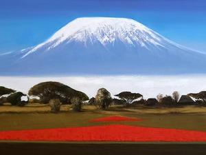 키리만자로 만년설, Oil on canvas, 162.2 x 112.1cm. 2018.(100M).jpg