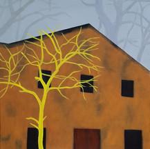 오경란. 창고  53 ×  45.5㎝  oil on canvas  2020.