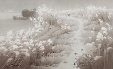 심상의 소리-길, Oil on canvas, 116.8x72.7cm. 2014..jpg