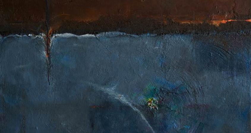 10.생명-씨앗의 비밀,162X130 ,Mixed media on Canvas.