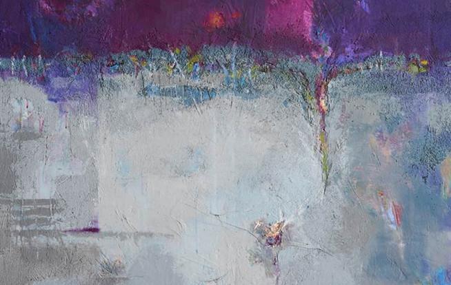 류혜온.생명-새로운 탄생,162X130, Mixed media on Canvas 2020.
