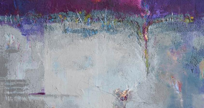 2.생명-새로운 탄생,162X130, Mixed media on Canvas.